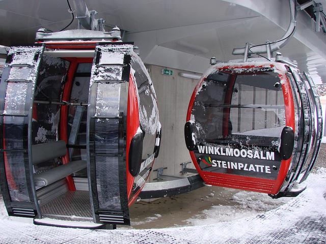 Skiareál Winklmoos - Steinplatte