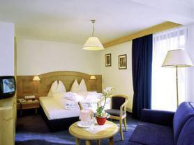 Jeden z pokojů v hotelu Alpenruh Micheluzzi, Serfaus