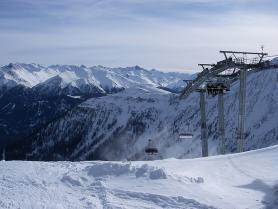 Lanovka ve skiareálu Serfaus - Fiss - Ladis
