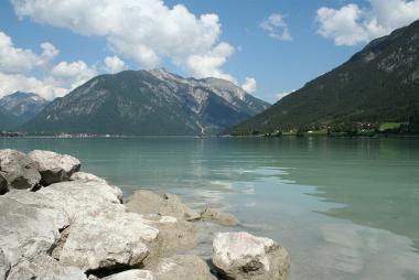 Maurach a jezero Achensee, Tyrolsko