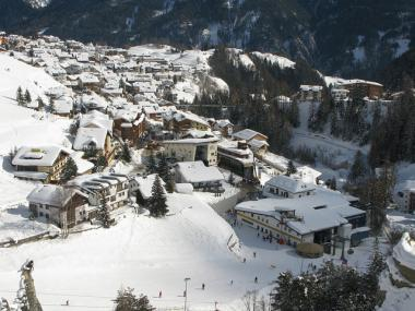 Středisko Serfaus v Tyrolsku