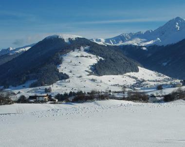 Tyrolský vrcholek Rangger Köpfl