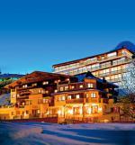 Tyrolský hotel Fliana v zimě