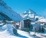 Tyrolský hotel Fluchthorn v zimě