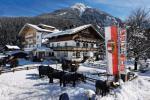 Tyrolský hotel Grundlhof v zimě