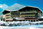 Rakouský hotel Klockerhaus v zimě