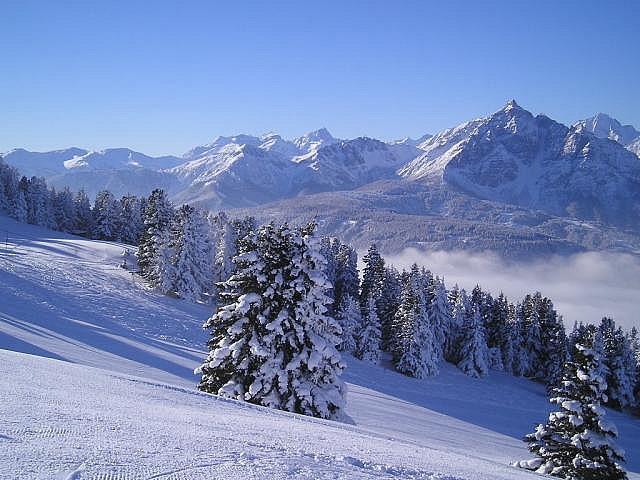 Innsbruck a skiareály, 1. část